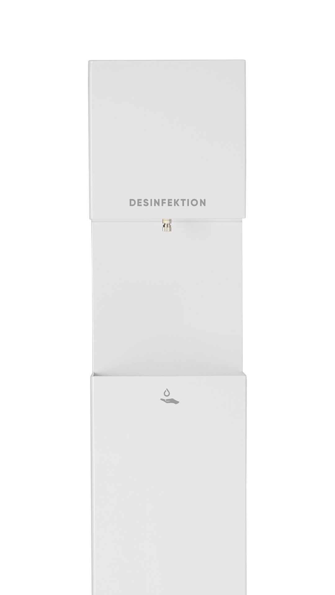 hydes Tower Desinfektionsspender Weiß